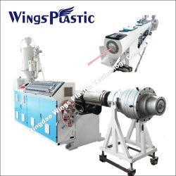 Le plastique PE/PP/PPR/PEHD/LDPE canalisation électrique de l'eau&/Tube (l'extrudeuse, transporter l'arrêt, la coupe de bobinage, belling) EXTRUSION Extrusion rendant la production Ligne/machine