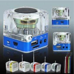 AtennaのLCDスクリーンFMのラジオが付いているNizhi TT 028 Bluetoothのスピーカー