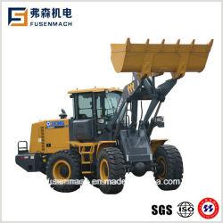3 toneladas cúbicas 92kw pequeño 1.8 la parte delantera de la pala cargadora de ruedas cargadora minicargadora con CE