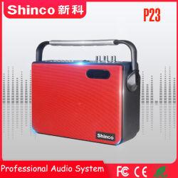 Новый пункт повестки дня Shinco портативный 5'' мини-АС с Bluetooth FM