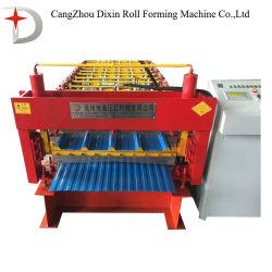 Het Broodje die van het Comité van het Dak van de Staalplaat van de Kleur van de dubbel-Laag van Dx Machine vormen