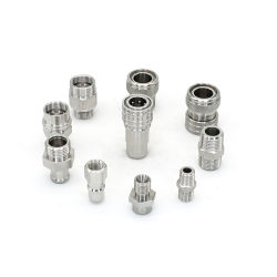 CNC die Deel met het Roestvrij staal van het Aluminium/van het Messing machinaal bewerken. De AutoDelen van de precisie/AutoVervangstukken