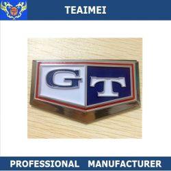 Gt Coche azul cuerpo auto adhesivo emblema adhesivo de placas