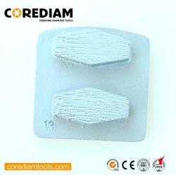 20# Têtes de meulage avec disque Segments/Diamond Outil/plaque de broyage/Secteur de meulage