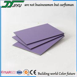 Commerce de gros feuille ACP PVDF panneau composite aluminium pour la décoration