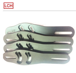 Las placas de CNC mecanizado con logotipo grabado láser