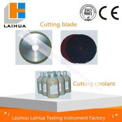 Verbruiksartikelen en accessoires voor het snijden van metallografische materialen