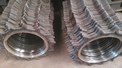 Mn13鋼鉄Castedの耐久の掘削機の摩耗はギヤ車輪を分ける
