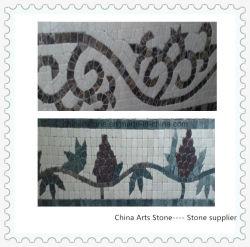 Характер каменной мозаики из белого мрамора мозаика для строительного материала стены и пол миниатюры в Северной Америке