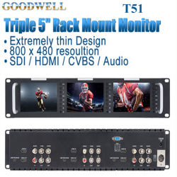 شاشة TFT LCD ثلاثية الأبعاد مقاس 5 بوصات