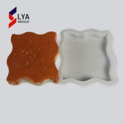 Dureza elevada Piso Plástico Moldes Moldes Mosaico tijolos coloridos