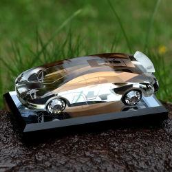 Fles van het Parfum van de Auto van het Kristal van de Verkoop van China de Hete Lege Kleurrijke
