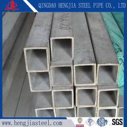JIS SUS304 сварные квадратные труба из нержавеющей стали