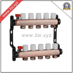 Медь сепаратор воды для системы обогрева пола (YZF-M802)