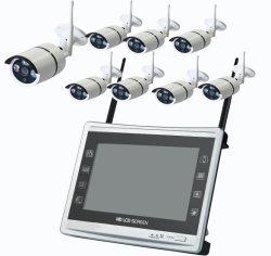 """Toesee drahtlose System 11 CCTV-8CH """" Nachtsicht-Sicherheits-Überwachung-Installationssatz IP-Kamera des LCD-Monitor-NVR P2p 960p HD im Freien IR"""