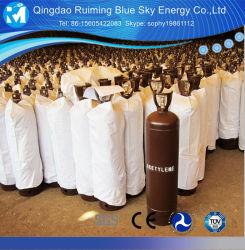 La soudure pour la vente de gaz dissous C2H2 Les prix du gaz acétylène pour la fabrication