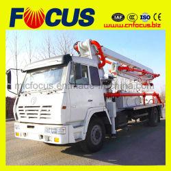 Una buena calidad de 24m Truck-Mounted Boom de hormigón Bomba, Bomba de concreto camión