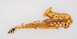 Bon pour débutants saxophone soprano courbé étudiant prix bon marché