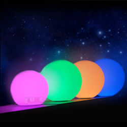 Décorations de Noël LED lumineux Lumière de Noël Boule décorative avec télécommande