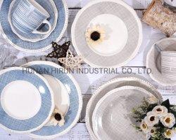 Тисненые керамики ужин с блока печати