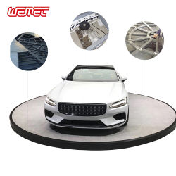 منصة دوارة للسيارات صغيرة الدوران بطول 5 م و6 م و7 م ومنصة دوارة كهربائية لوضع السيارات والعرض