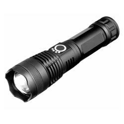 5개의 가벼운 최빈값, Zoomable, 실내와 옥외 사용을%s Water-Resistant를 가진 매우 밝은 전술상 플래쉬 등, 높은 루멘 T6 LED 소형 플래쉬 등,