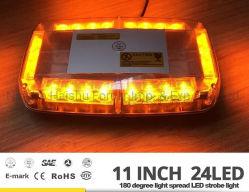 12/24VDC Mini-LED Leistungs-Röhrenblitz-Licht mit starke Emergency Minibar-Warnleuchte des Magnet-LED