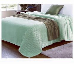 Custom 100% polyester Super doux l'impression de couverture de laine de flanelle de gros en microfibre
