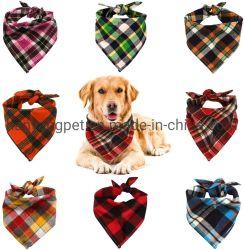 Sciarpa con sciarpa reversibile con Maid Triangle cane Bandana Copripiano regolabile