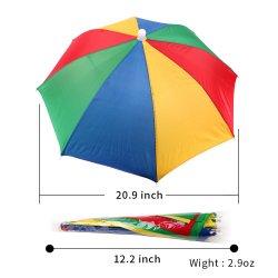 Ombrello variopinto della testa del cappello dell'ombrello di alta qualità all'ingrosso mini
