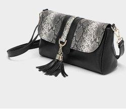 Моды Style PU с змеи люка схемы Cross-Body Леди сумки