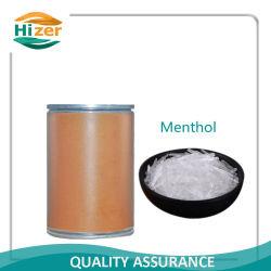 Cristal naturel de haute qualité Menthol CAS 2216-51-5