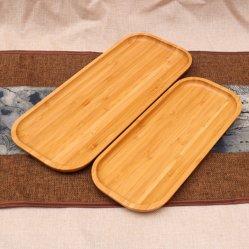 Plato de Cocina Cuarto de baño madera ecológica (2 Pequeñas 11,75 x 8,