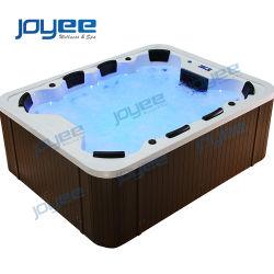 Joyee 8 personas de la bañera de hidromasaje al aire libre en el jardín con la familia
