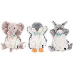 Kaloo Doudou Handpuppe Pinguin Elefant Esel Weiche Spielzeug Baby