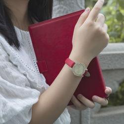 Клеящий агрегат Crystal закрывается Gold Luxury Мода часы для женщин