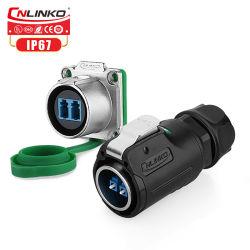 Conector de fibra óptica resistentes al agua /Cable de fibra óptica resistentes al agua