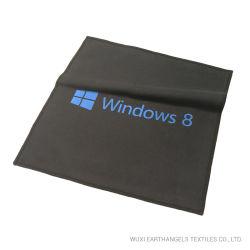 Panno di pulizia stampato marchio di seta su ordinazione dello schermo di Microfiber