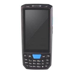 Android tenuto in mano PDA della raccolta di dati dello scanner del codice a barre 1d 2D