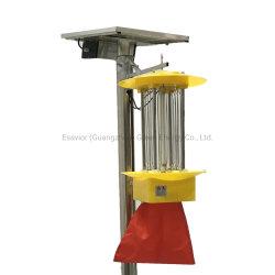 La lumière solaire insecticide solaire insecte ravageur/Killer lampe pour la santé de la famille agricole avec panneau solaire 30W Poly