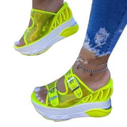 Superstarer Fashion Sexy High Heels confort Slipper Chaussures femmes sandale