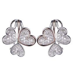 Inner-Form-Ohrring-stellten hängende Form-Schmucksachen für Geschenk ein