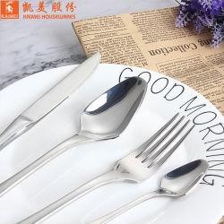 Fourche en acier inoxydable Ustensiles de cuisine de haute qualité avec poignée gravé