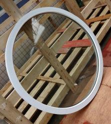 PVC Matreial fenêtres rondes en plastique