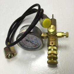 Disjuntor Daemo DMB gás nitrogênio contador do kit de carregador de martelo hidráulico da válvula de carga de gás N2