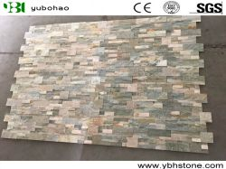High Quality Natural White/Black/Yellow/Rusty Yellow/Grey/Silver Quartzite Slate Culture Stone