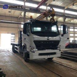 Sino Truck HOWO 14톤 건설 텔레스코픽 붐 트럭 장착 크레인