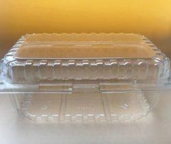 مستهلكة بلاستيكيّة بثرة طعام يأخذ يعبّئ محارة بعيد [بكينغ كنتينر] نباتيّ