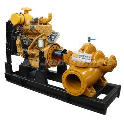 XS 디젤 엔진/전기 대용량 압력 분할 케이스 화재 관류용 케이싱 이중 흡입 농사용 원심 워터 펌프 해양