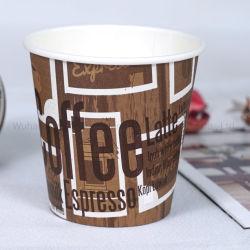 مستهلكة [ببر كب] جدار وحيد [درينك كب] لأنّ حارّ قهوة شاي [إسبرسّو] [هوت شكلت]